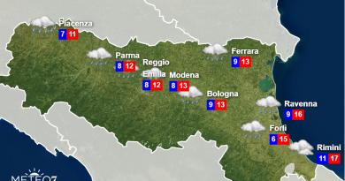 Meteo Emilia Romagna Lunedì 18 Novembre 2019