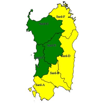 Allerte Meteo Sardegna Lunedì 20 Gennaio 2020