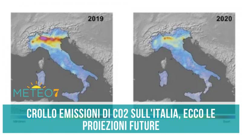 COVID-19 e EMISSIONI crollo di CO2 sull'Italia, ecco le proiezioni future