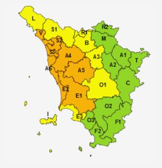 Allerte Meteo Toscana Giovedì 11 Giugno 2020
