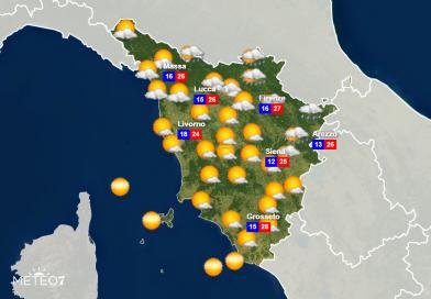 METEO Toscana: ALLERTA METEO GIALLA per Lunedì 15 Giugno 2020, rischio TEMPORALI